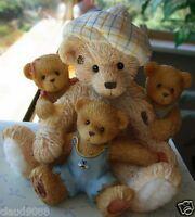 "CHERISHED TEDDIES -  ""SISSY, BRANDY, JADA AND FRIENDS""  116523  MINT IN BOX"