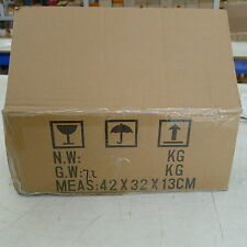1 carboard removal box packing moving for book CD TV home cleaning 42x32x13cm