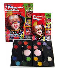 5 Jahreszeiten  Schminkfarben,Eulenspiegel, Schminke, Kinderschminke + Zubehör