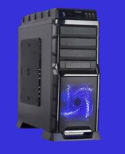 NEW ATX MidTower USB 3.0 SATA LED Fan Hot Swap Tooless Computer Gaming PC Case