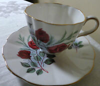 ELIZABETHAN TAYLOR AND KENT BONE CHINA ENGLAND CUP AND SAUCER
