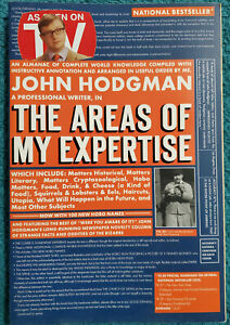John Hodgman The Areas of My Expertise (2005) paperback