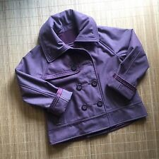 RARE LULULEMON Bordeaux Red COCO Size 10 Softshell Drama High Collar Jacket B14