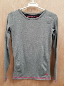 NEW ** HARRY HALL ** GREY BASE LAYER SKINS TOP LADIES SIZE SMALL 8-10