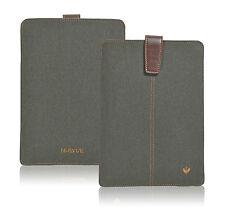 iPad mini Case Green Cotton Twill NueVue Screen Cleaning Sanitizing Sleeve