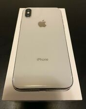 Apple iPhone X - 64GB - Silver (Unlocked) A1865 (CDMA + GSM) Good Condition