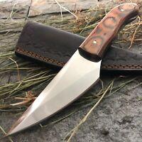 AMERICANO CUTLERY HANDMADE D2 MIRROR POLISH HUNTING KIRIDASHI BLADE KNIFE - A243
