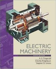Electric Machinery by A. E. Fitzgerald, Jr., Charles Kingsley, Stephen Umans