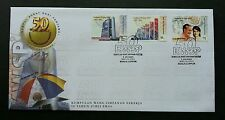 Malaysia 50th Golden Anniversary EPF 2001 Employees Provident Fund (stamp FDC)
