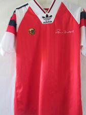 Norway Rune Bratseth Testimonial Match Worn Home Football Shirt small /13291
