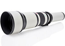 Opteka 650-1300mm Telephoto Zoom Lens for Canon RF-Mount EOS RP and R Cameras