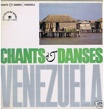 LP VENEZUELA CHANTS & DANSES LE CHANT DU MONDE