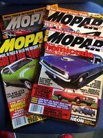 Mopar Action Magazine 4 Issues Job Lot 1996 - See Description