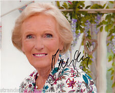 """Mary Berry - Colour 10""""x 8"""" Signed Photo - UACC RD223"""