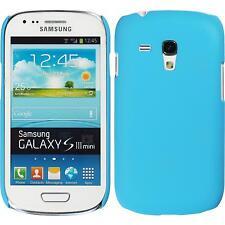 Caso Ibrido Samsung Galaxy S3 Mini -  blu + pellicola protettiva