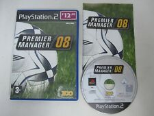 Premier Manager 08 - Sony PS2 (PAL) Game Playstation 2