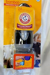 Dog Disposable Waste Bags with Dispenser Arm & Hammer!