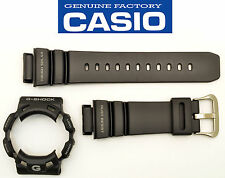 Casio G-SHOCK GW-9100 ORIGINAL  Gulfman Watch Band & Bezel Black Rubber Strap