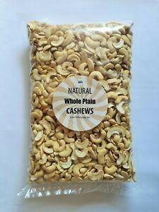 Cashew Nuts 1kg Raw Whole Split Cashews Nut 1 KG bulk value standard best grade
