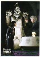2016 Topps Doctor Who Timeless Green Foil Parallel #13 The Curse of Peladon