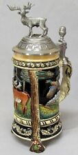 King German Footed Stein with Lid Limited Edition