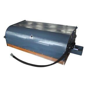 NEW 72 PICK UP BROOM BOX Bucket Skid Steer Loader SweeperSweepster 6 fit bobcat