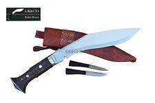 "10""Hand Forged Panawal Jungle Red,case,GK&CO.amazing Blade-Nepal Khukuri Knife"