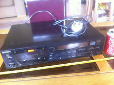 Sony Stereo Tape Cassette Deck TC-R502 ES Dolby BC NR HX Pro Very Rare