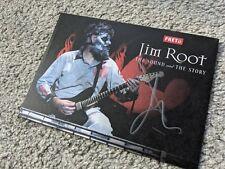 More details for jim root autograph signed photo - slipknot, fender, guitar