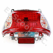 TAIL LIGHT ASSEMBLY CHINESE SCOOTER GY6 4STROKE 2 PLUGS TAOTAO ROKETA PEACE SUNL