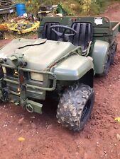 2003 John Deere Military 6x4 Gator for Parts Or Repair Diesel M Gator