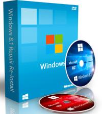 Fix Restore Install Windows 8 / 8.1 Boot DVD + Driver Disk + ISO Download 64 Bit