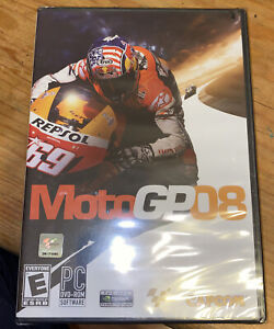 Moto GP 08 PC Video Game NEW SEALED