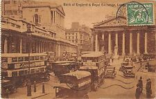 BR93733 double decker bus bank of england royal exchange london  uk