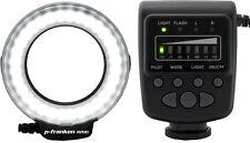 Macro LED RING relámpago para Nikon - 7 niveles de iluminación-para cámaras Nikon
