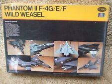 Plastic kit Testers Italeri F 4 Wild Weasel 1/72