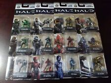 Nano Metalfigs HALO Complete set of 12 mini figures NEW LOT metal Master Chief