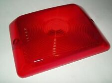 (1) Series 84/85Red Bargman Tail Light Lens, Replacement Lens 4x6 Camper Trailer