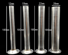 Sausage Stuffers Stainless Steel Meat Filling Tubes Funnels Nozzles Parts 4 Pcs