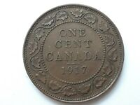 Canada 1 cent 1917 George V