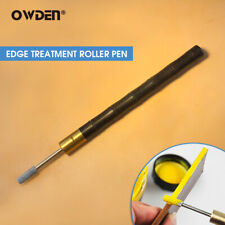 Owden Leather Craft Edge Treatment Carving Oil Pen Tool Stainless Tip Roller Pen