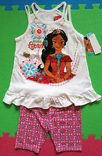 @**DISNEY ELENA OF AVALOR SPAGHETTI STRAPS TOP & KNIT SHORTS**@ NWT SIZE 5 or 6X