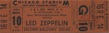 LED ZEPPELIN 1980 Unused Concert Ticket John Bonham