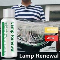 Auto Headlight Polishing Fluid Restoration Kit Car Coating Repair 50ML Scra K3X3