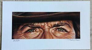 The Good The Bad And The Ugly Art #16 Clint Eastwood Jason Edmiston Mondo SDCC