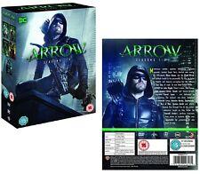 ARROW 1-5 (2012-2017) DC Comics Green Arrow TV Season Series  Reg2 DVD not US