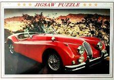 Vintage Jaguar Car Jigsaw Puzzles 1000  Piece Adult Kids Puzzle  Gift  Art DIY