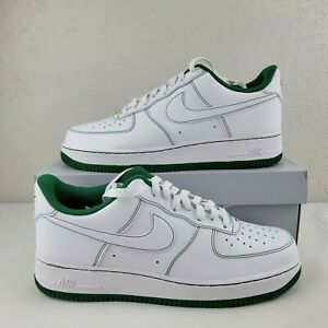 Nike Air Force 1 07 Low Green Contrast Stitch Casual Lifestyle Men's Size
