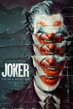 Joker Movie Poster (24x36) - Joaquin Phoenix, Arthur Fleck, Robert De Niro v8