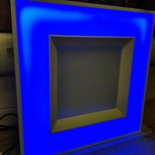 New Whitecroft Duo3 D3MCY3XT LED Recessed Ceiling Tile Light and Blue Nightlight